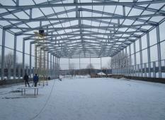 Зернохранилище. Московская область